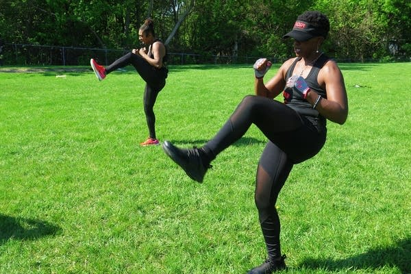 Valerie Turner and Chaz Sandifer started Noir Elite Fitness in April