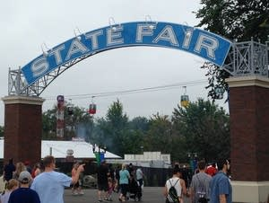 state fair streetcar arch gate entry
