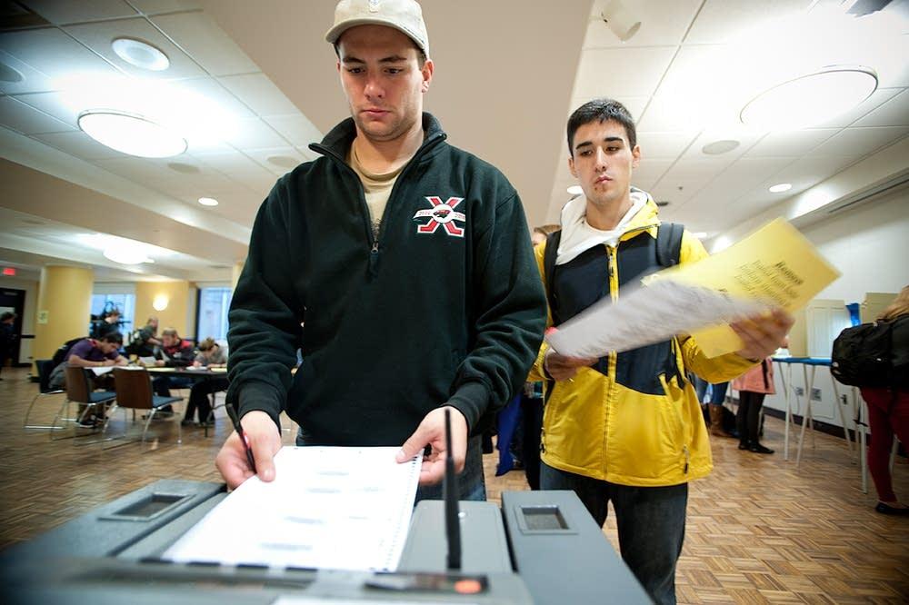 U of M students vote
