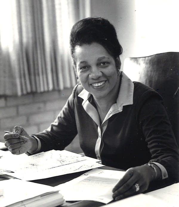 Lillian Francis Lazenberry Martin.