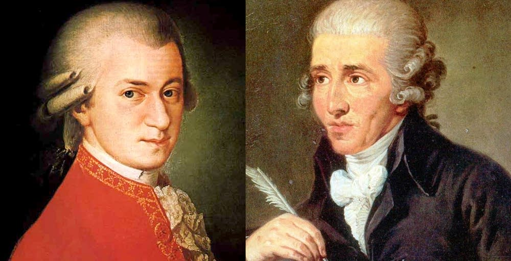 Mozart and Haydn