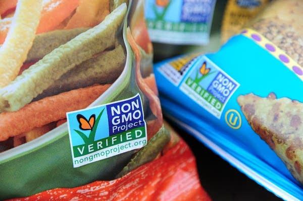 Non-GMO labels