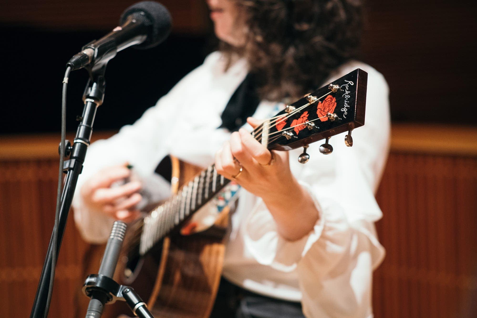 Joseph perform in The Current studio