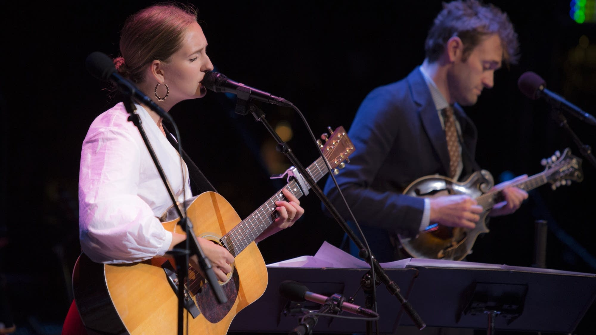 Madison Cunningham and Chris Thile