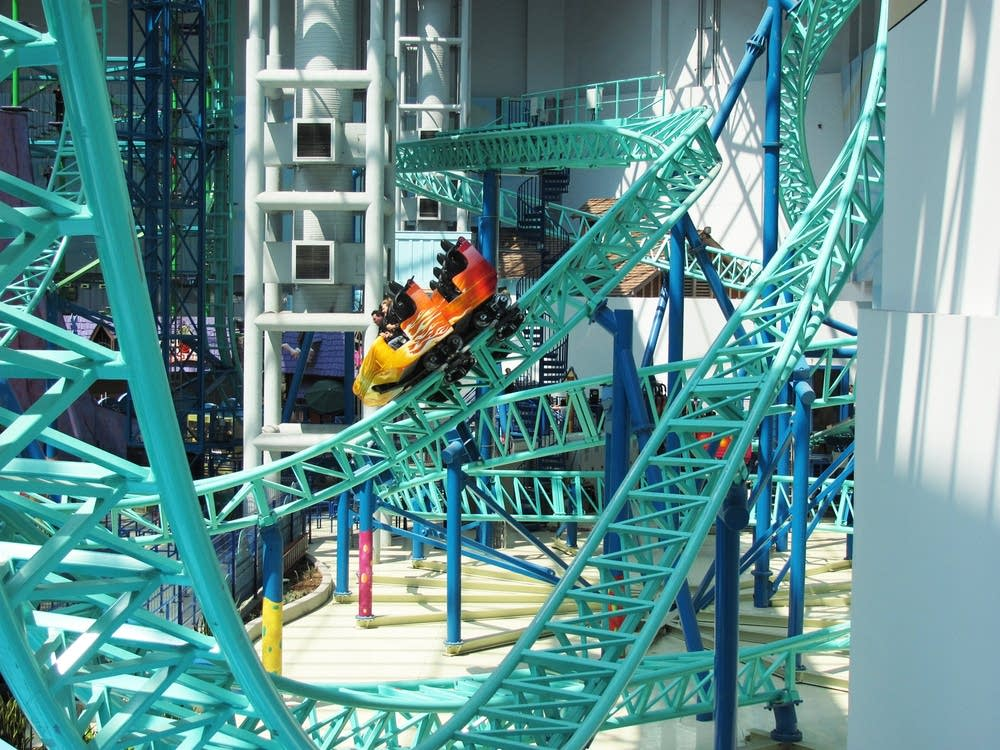 Rides at Mall of America