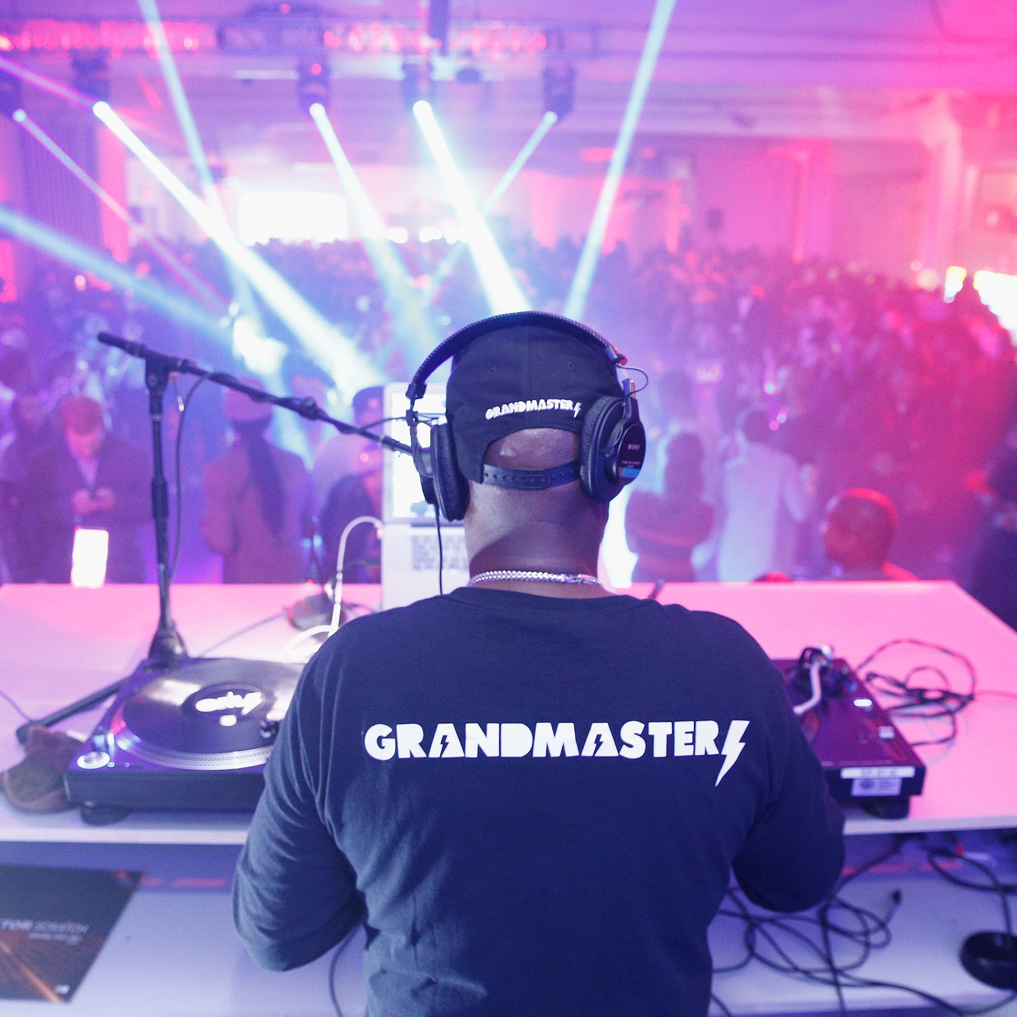 Grandmaster Flash performs in New York, 2018.