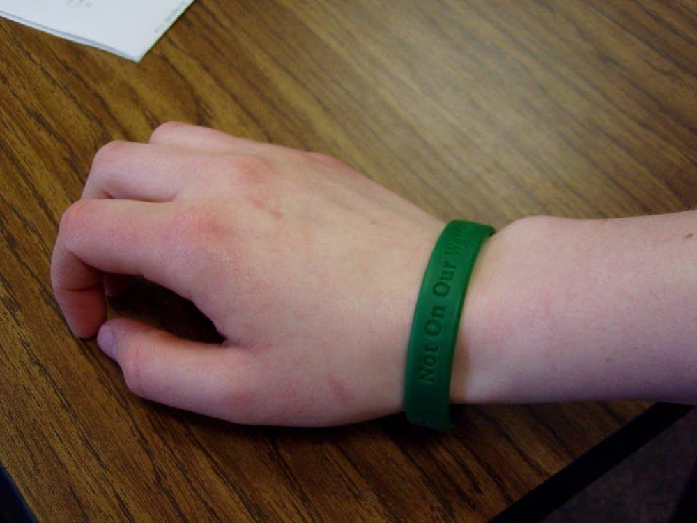 Save Darfur bracelet