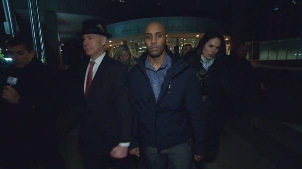 Former Minneapolis police officer Mohamed Noor leaves jail