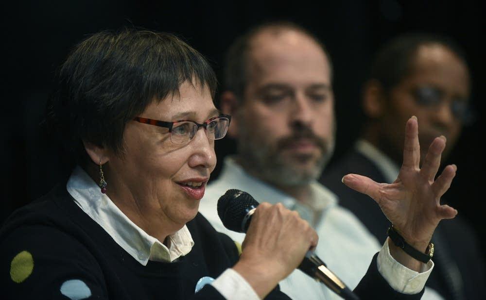 St. Paul school board candidate Mary Vanderwert
