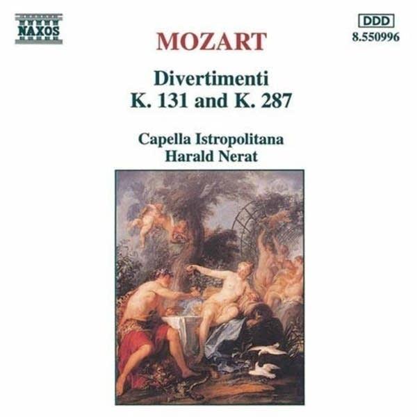 Wolfgang Amadeus Mozart - Divertimento No. 15: IV. Adagio