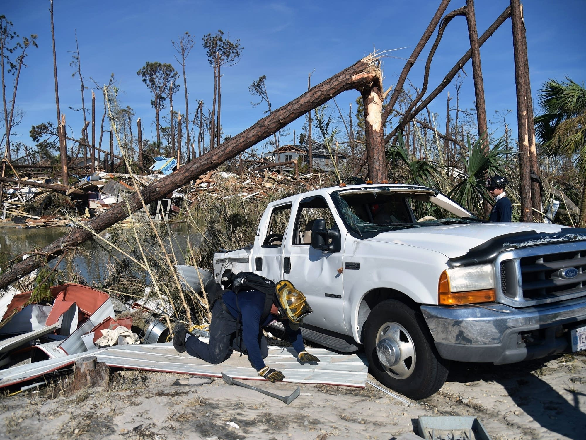 Hurricane Michael damage