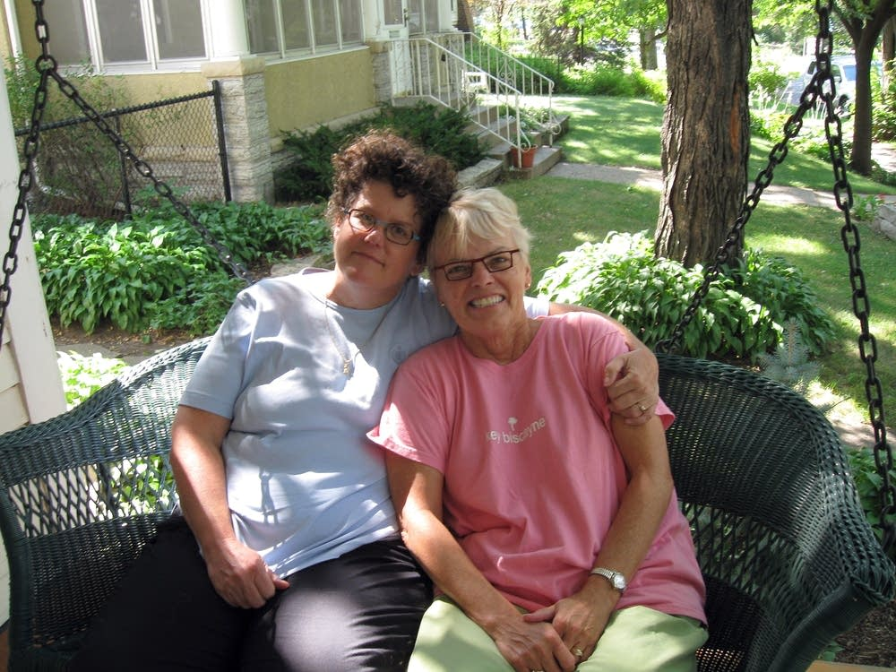 Eileen Scallen and Marianne Norris