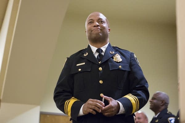 Minneapolis police chief wants 400 more officers by 2025 | MPR News