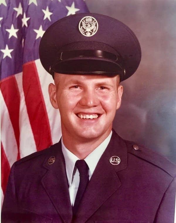 A man in military uniform.