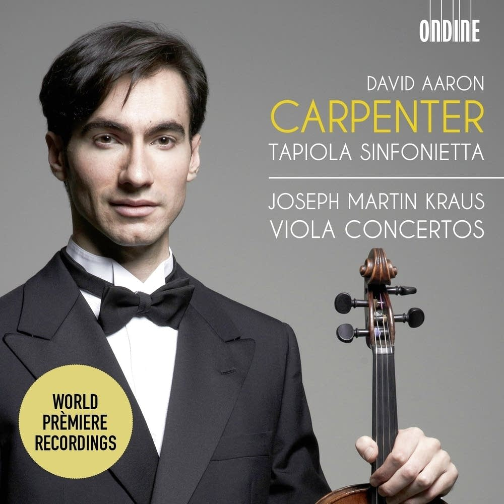 Kraus: Viola Concertos - David Aaron Carpenter