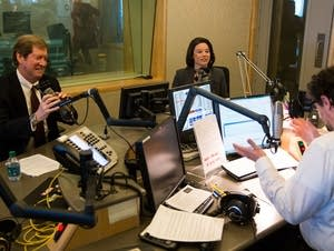 Angie Craig and Jason Lewis debate at MPR