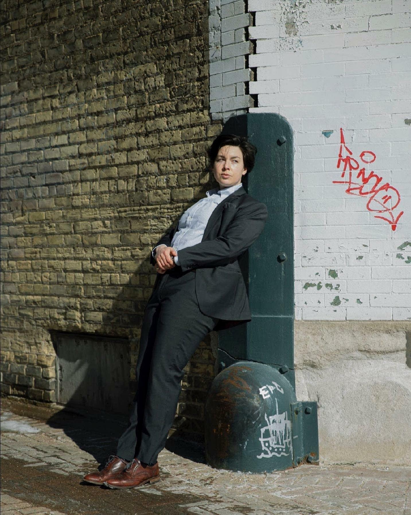 Minneapolis-based artist Kahlen., aka songwriter Kat Noble Moore
