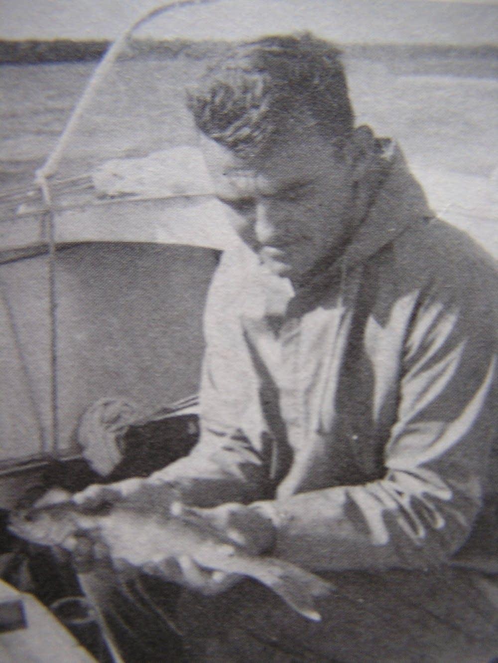 A young Denny Schupp