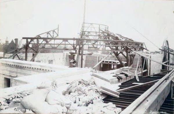 Capitol construction, June 1, 1900