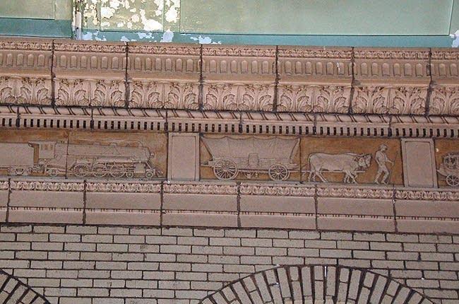 Bas-relief sculptures