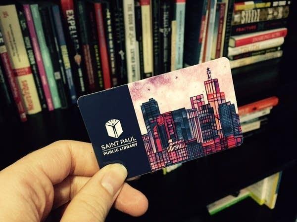 A passport, a key, a library card