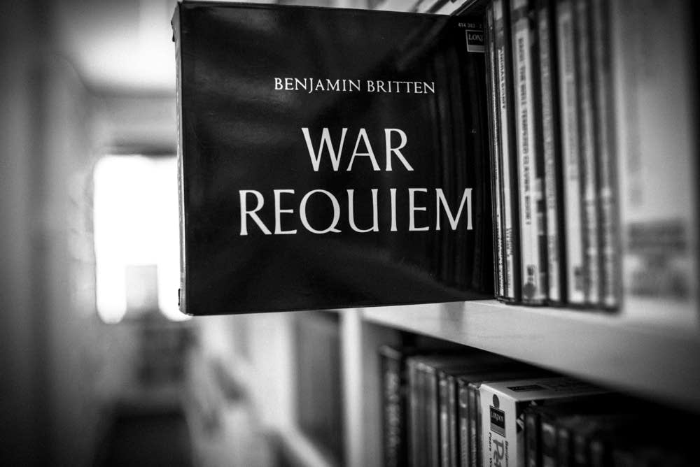 "Britten's ""War Requiem"" in the Classical MPR libra"