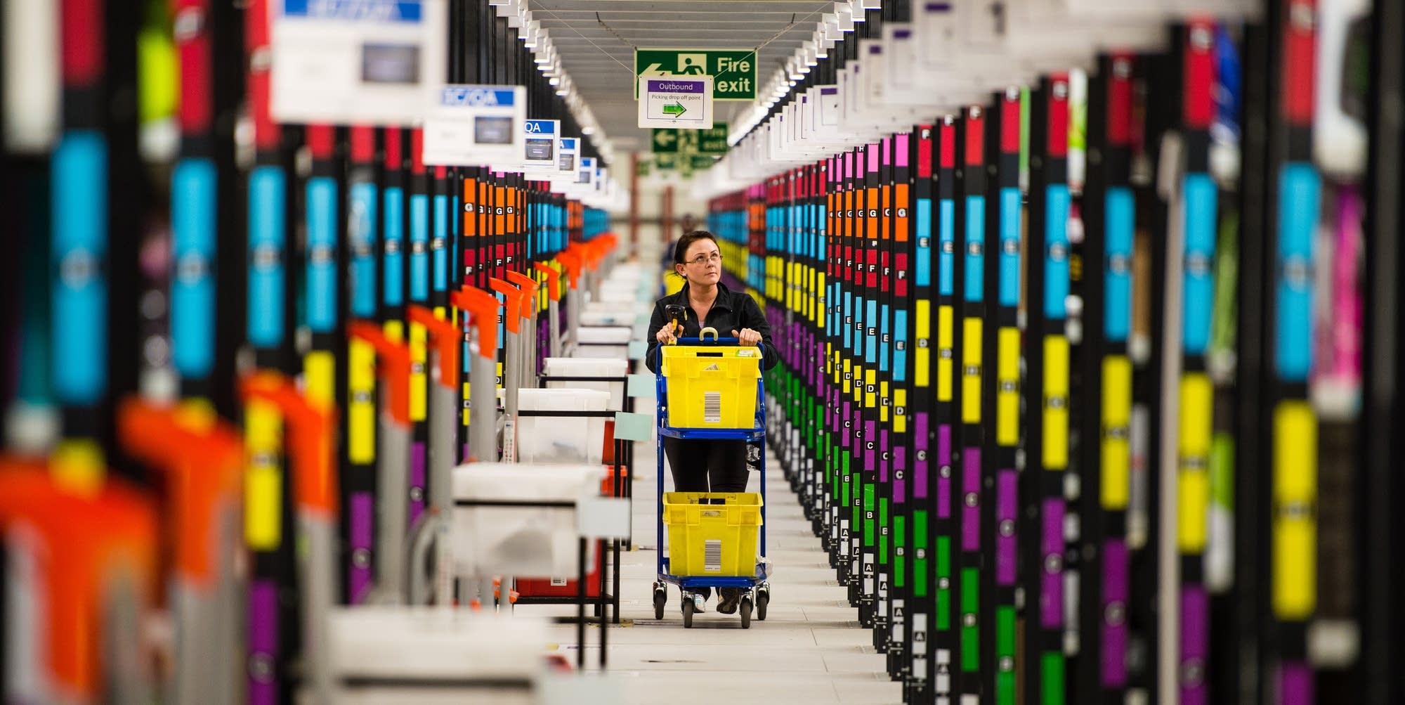 Amazon's Fulfillment Center in Hemel Hempstead