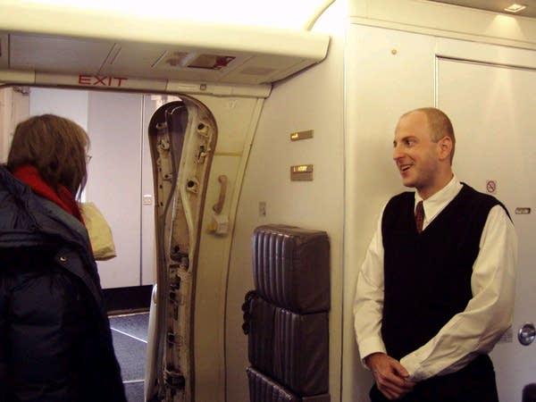 NWA flight attendant