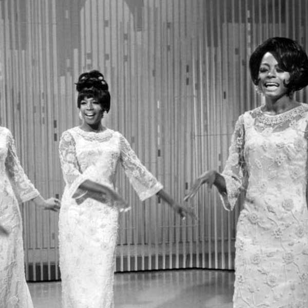 The Supremes perform on The Ed Sullivan Show