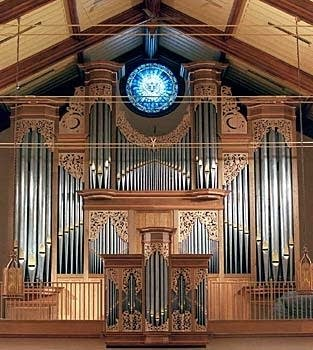 2004 John Brombaugh organ at First Presbyterian Church, Springfield, IL