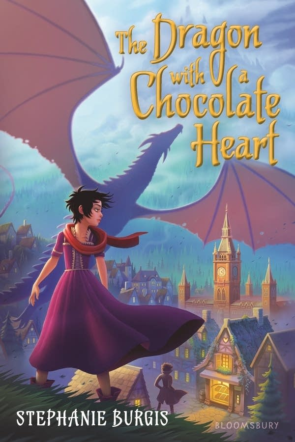 'The Dragon with a Chocolate Heart' by Stephanie Burgis