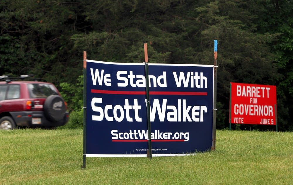 Candidate signs