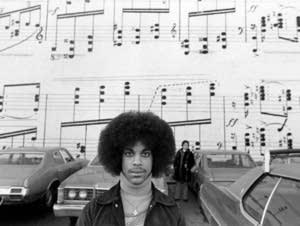 Photograph of Prince taken by Robert Whitman