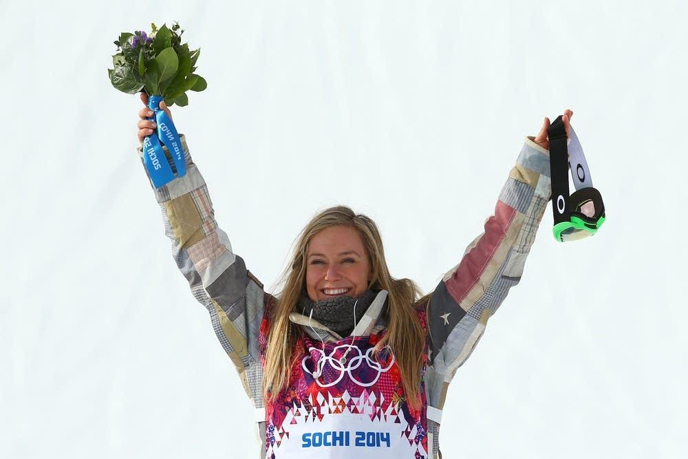 Gold medalist Jamie Anderson