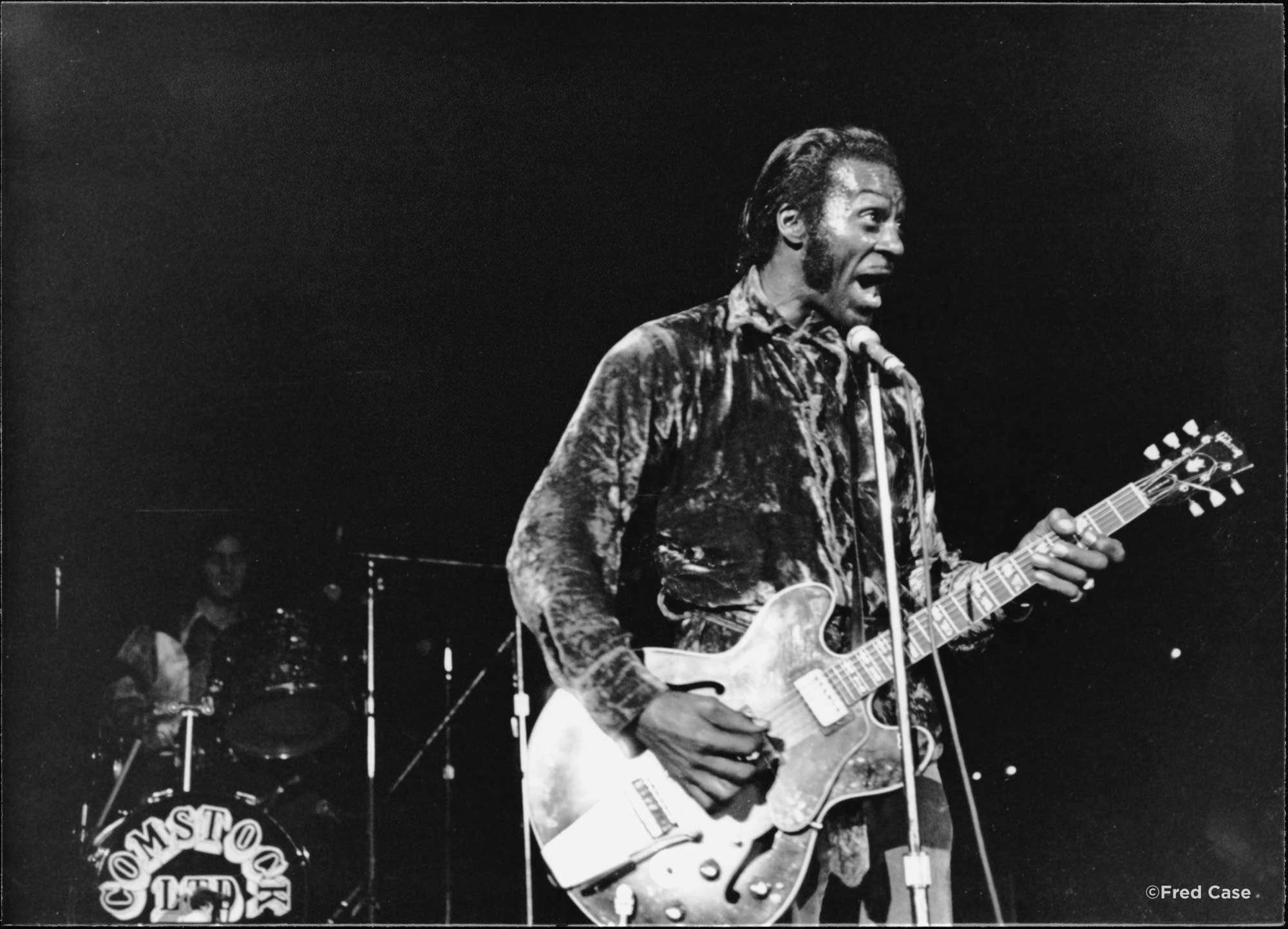 Chuck Berry at the Carlton Celebrity Room.