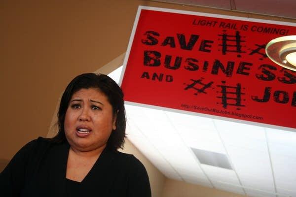 Lysa Bui, owner of Saigon Restaurant on University