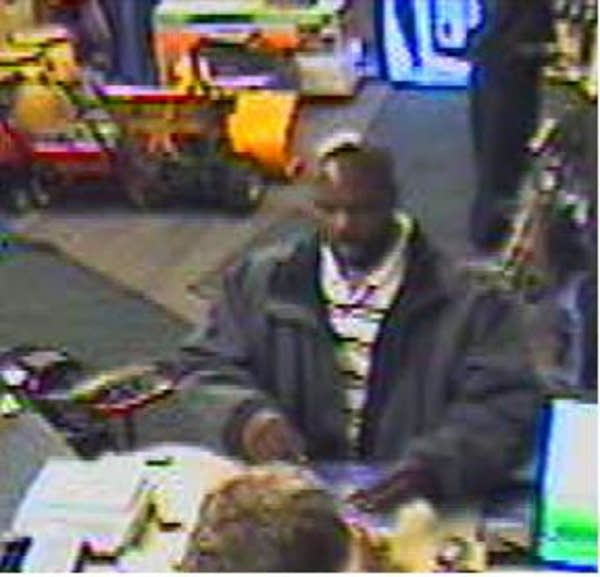 Robbery suspect