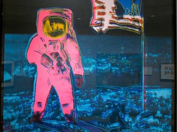 """""""Moonwalk"""" print by Andy Warhol"""