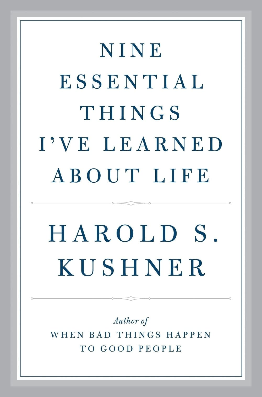 Listen Rabbi Harold Kushner On Faith And Mistakes