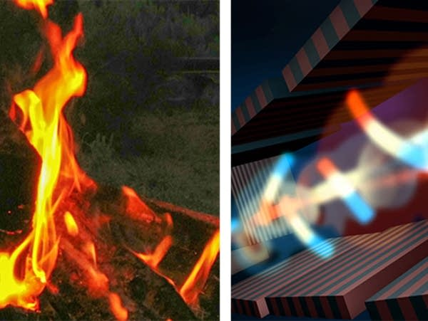 Which is cooler? Fire or Lasers?