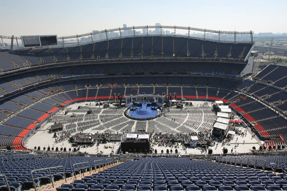 Invesco Field on day four of the DNC