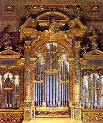 1598 Biagi-1747 Alari organ at San Giovanni in Laterano, Rome, Italy