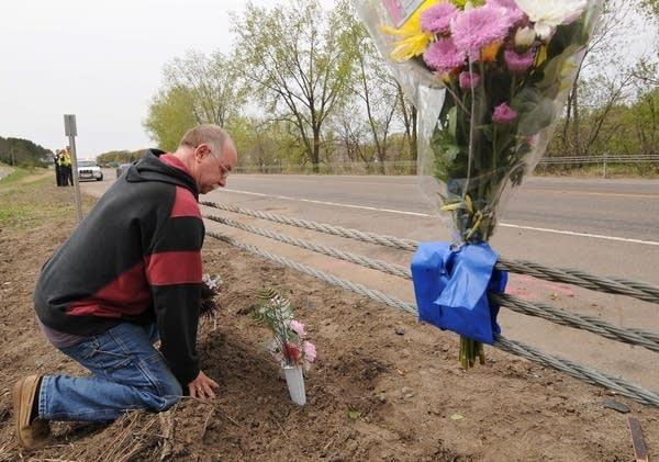 Crash site memorial