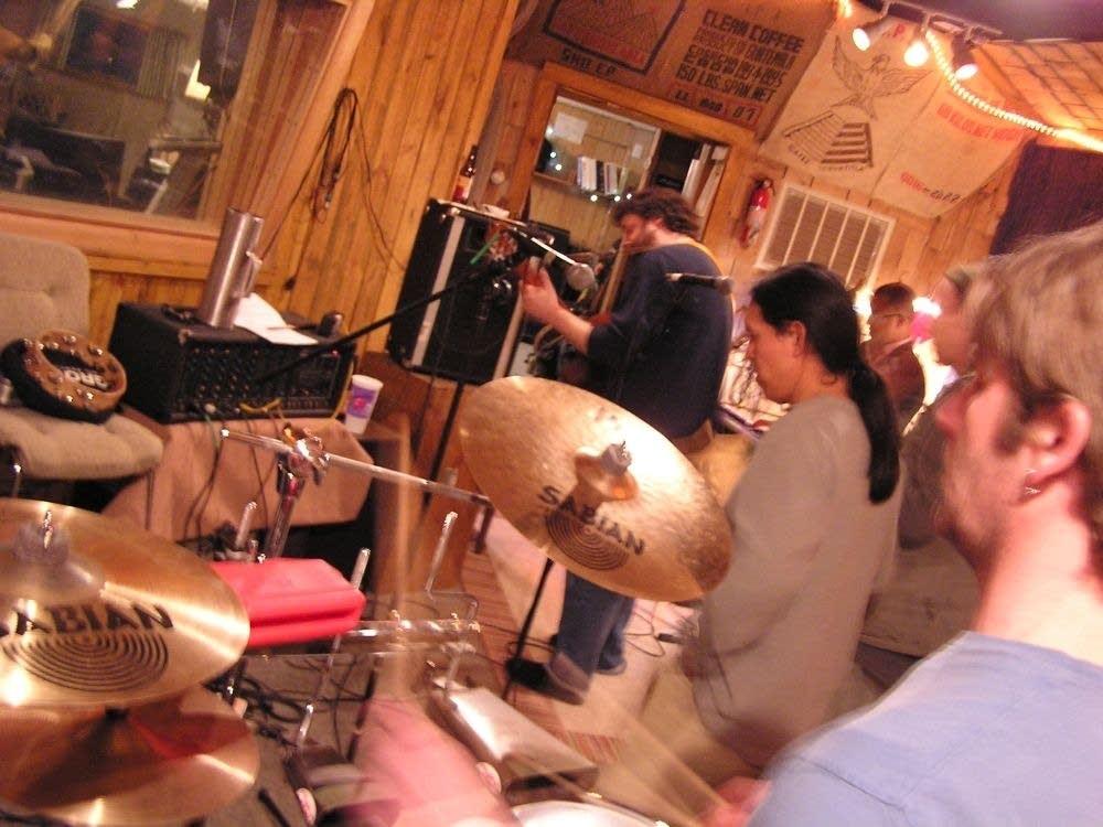 Drumming with Pachanga