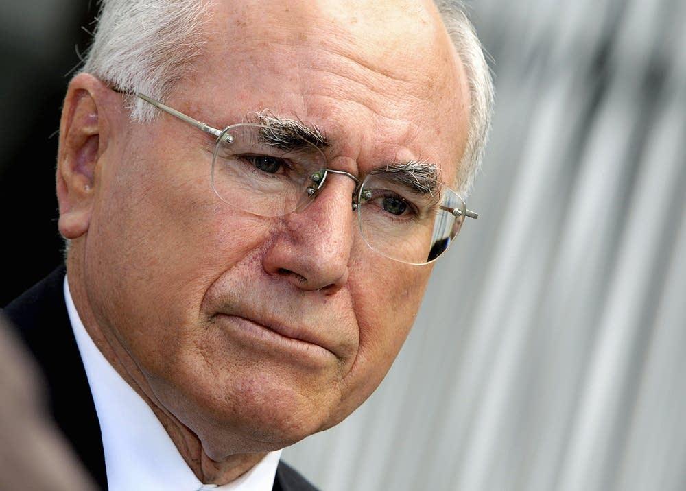 Australian Prime Minister John Howard sp