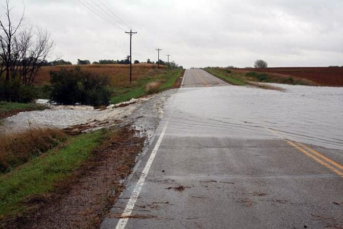 Amboy flooding