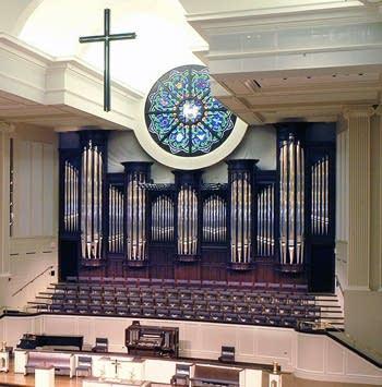 2003 Létourneau organ at St. Andrew UMC, Plano, Texas