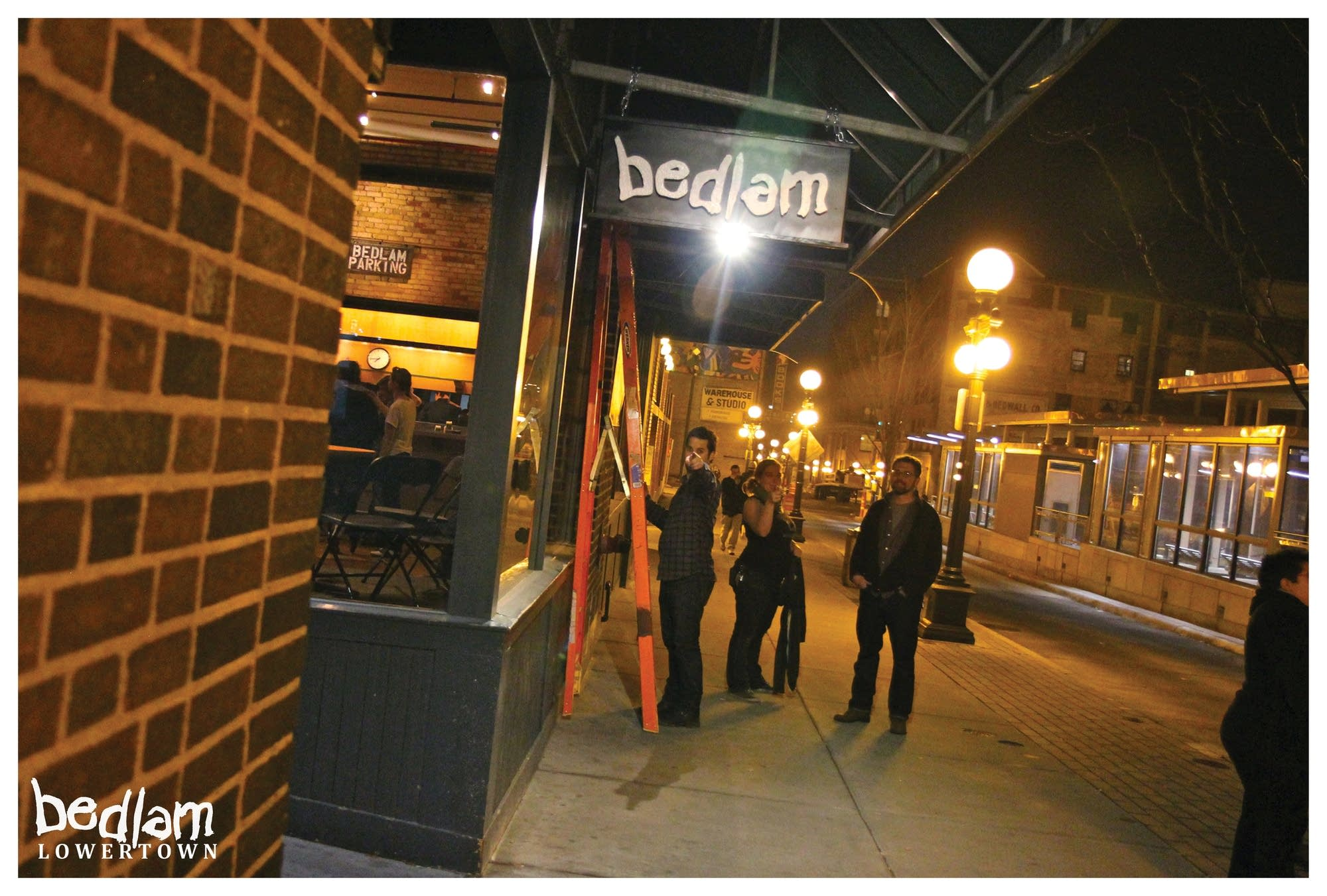 bedlam theatre, lowertown