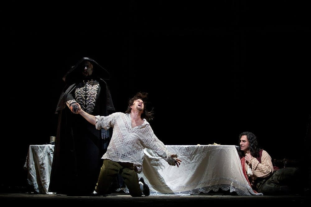 A scene from Don Giovanni