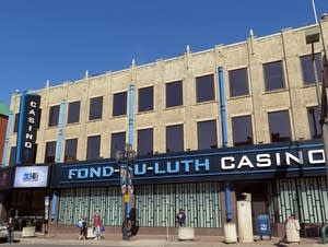 The Fond du Luth casino in downtown Duluth